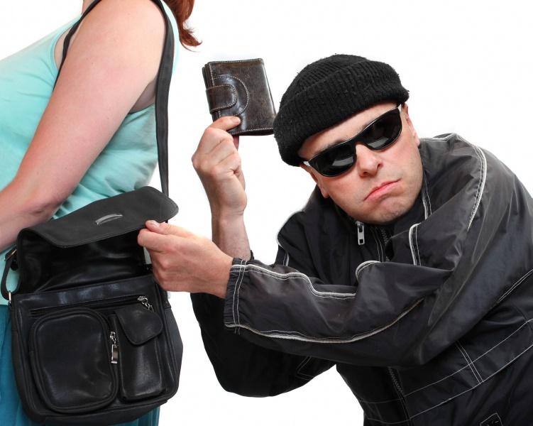 Беспечность девушки способствовала краже
