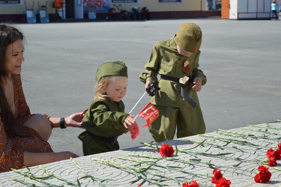 Октябрьцы провели День Победы в новом формате
