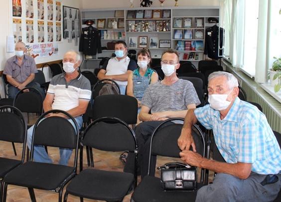 В Отделе МВД по Октябрьскому району состоялось очередное заседание Общественного совета
