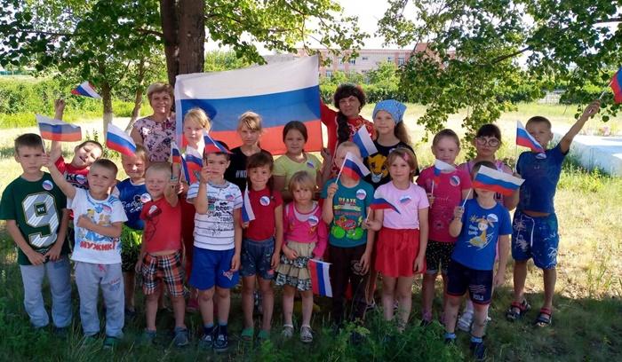 Сельчане отметили День России