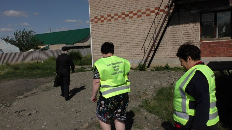 В Октябрьском районе сотрудники полиции провели оперативно-профилактическое мероприятие «Район»