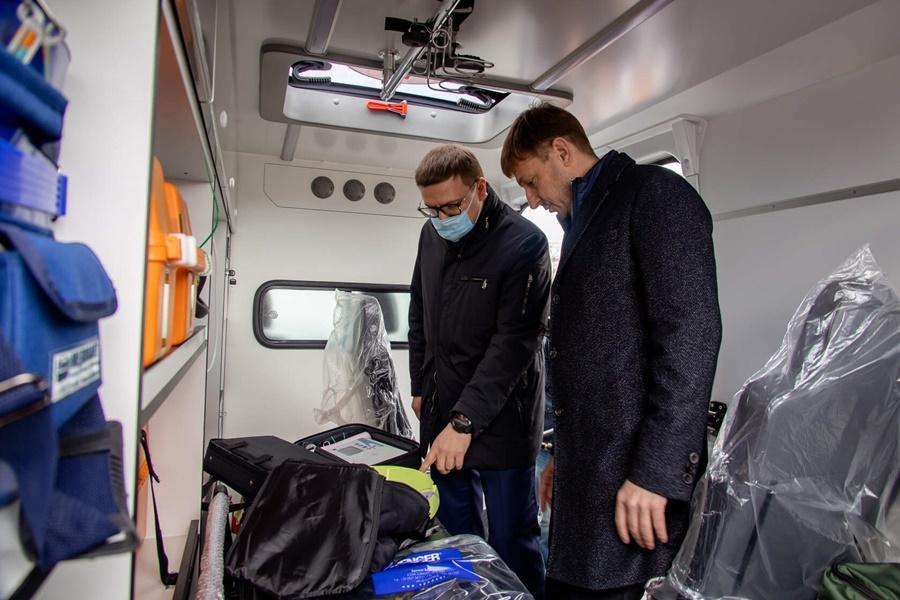 Районная больница получила комфортабельный автомобиль Скорой помощи