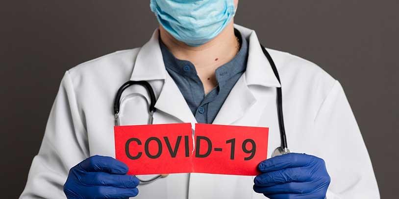 В районе зарегистрировано 45 больных коронавирусом