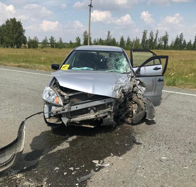 В результате ДТП погиб 67-летний водитель