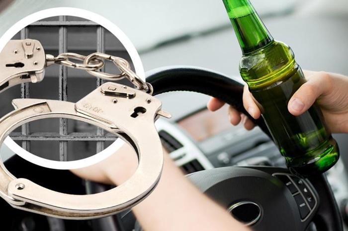 Трижды осуждён за управление транспортом в состоянии алкогольного опьянения