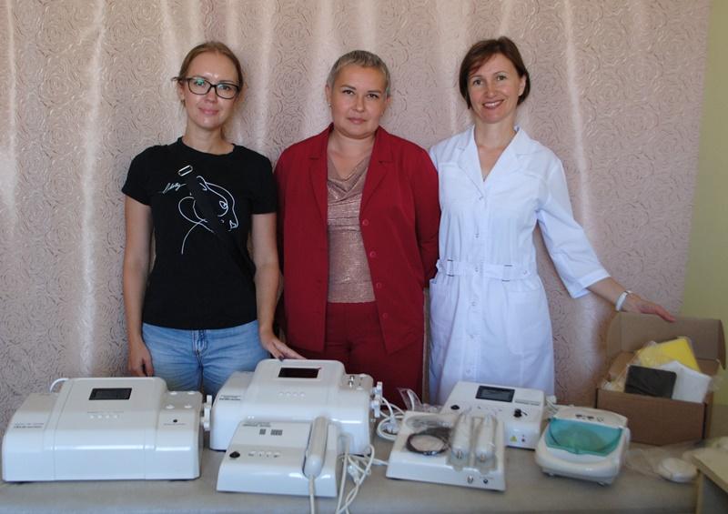 Кабинет физиотерапии пополнился новым оборудованием