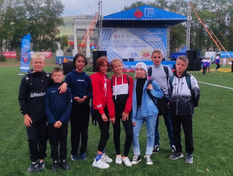 Октябрьские школьники приняли участие в фестивале ГТО «Спорт - норма жизни»