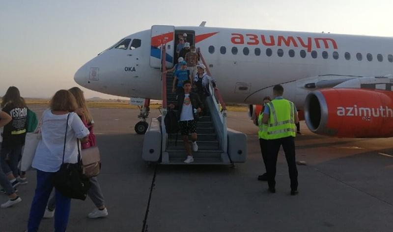 Дети из Анапы вернулись в Нагайбакский район