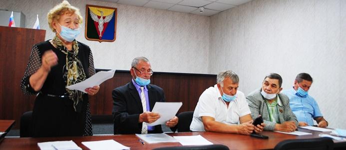 Избран новый председатель районной ветеранской организации